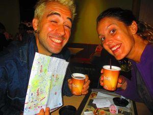 Mapa + Café = ¡Listos para turistear! ;)