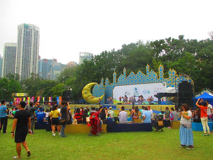 Art festival en Victoria Park
