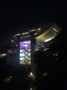 Sky Terrace de noche