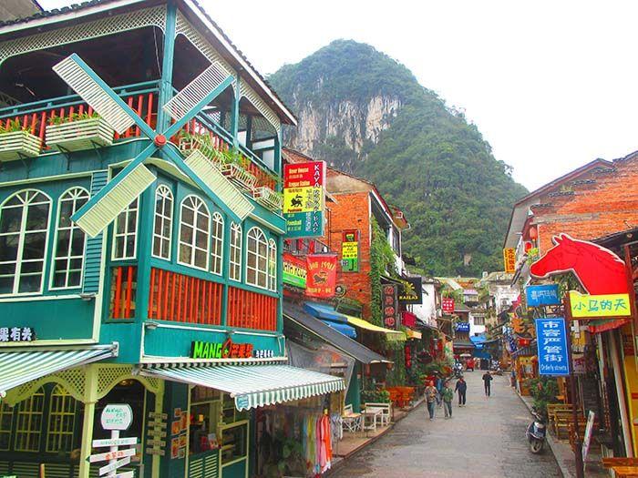 Calle Xijie, Yangshuo, China