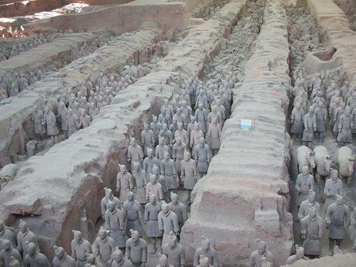 Guerreros de Xian