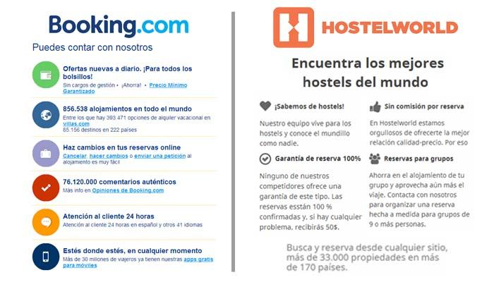 BOOKING VS HOSTELWORLD