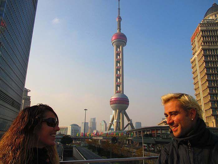 Perla de Oriente en Shanghai