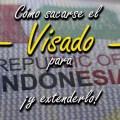 Visado Indonesia y extenderlo