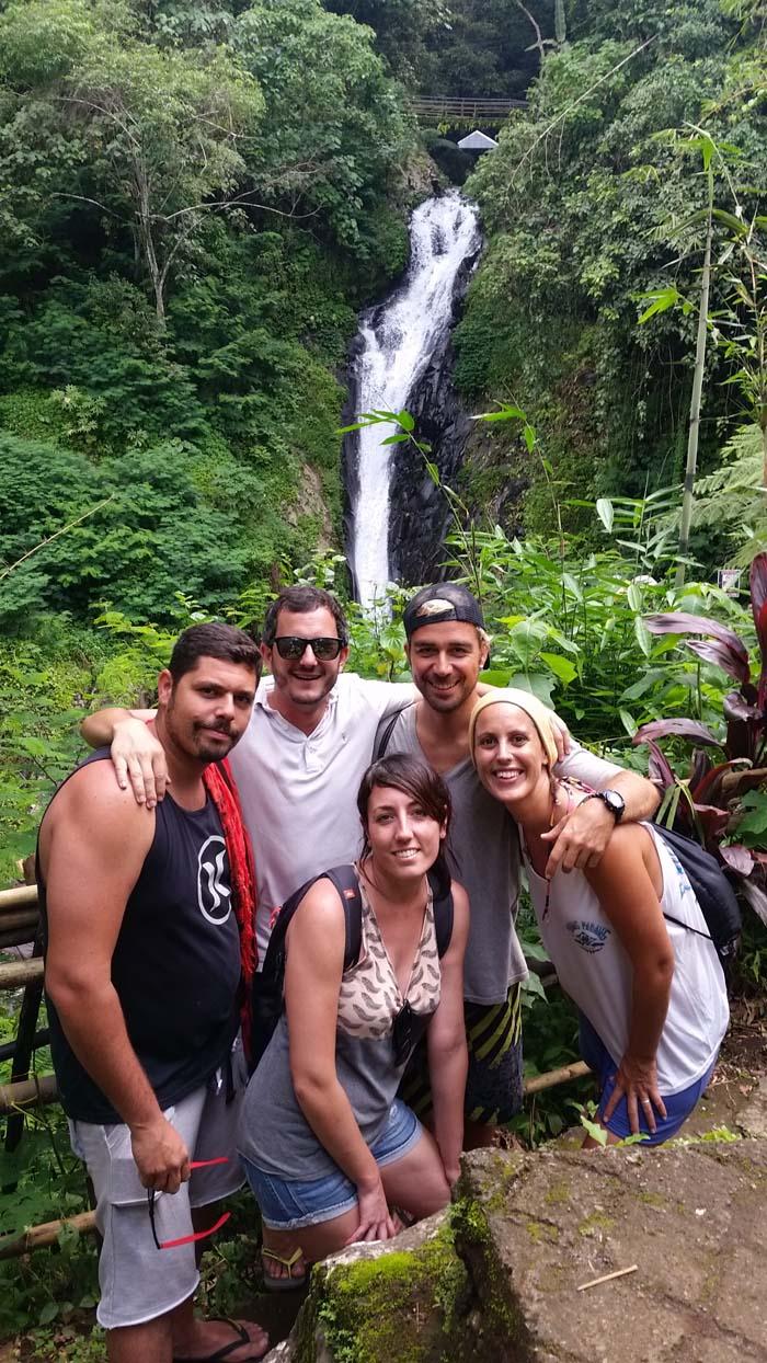 Cascadas Gitgit, Ubud, Bali