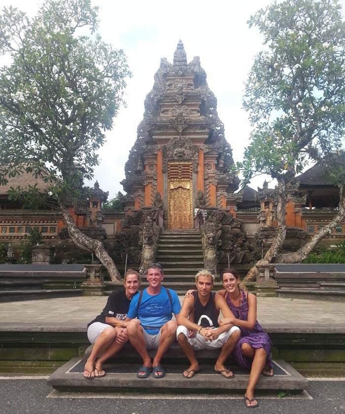 Templo Taman Saraswati, Ubud, Bali