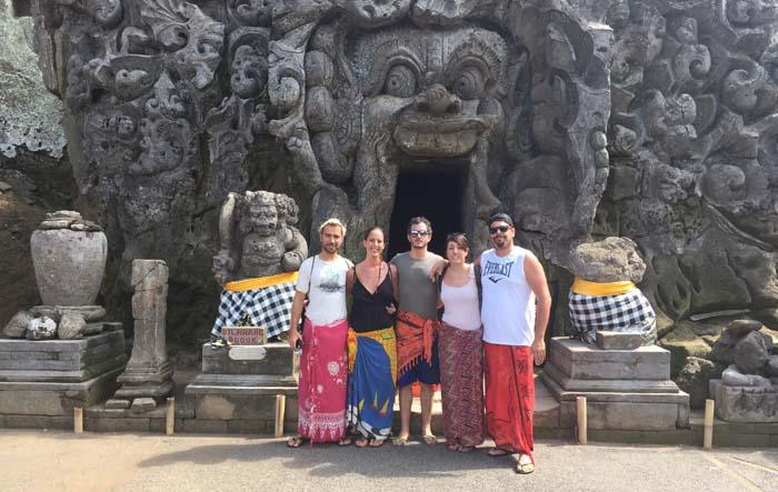 Templo Goah Gajah o cueva del elefante, Ubud, Bali