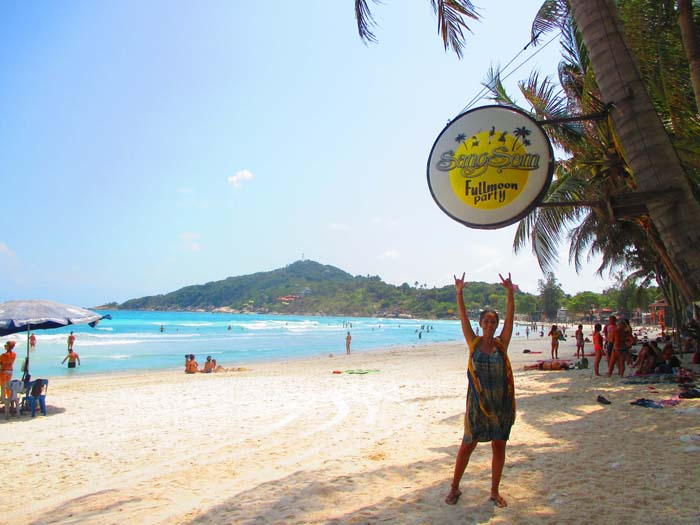 las 7 mejores playas de Koh Phangan