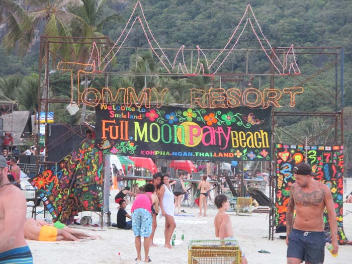 Koh Phangan: Full Moon Party, Tailandia