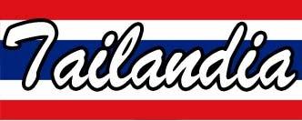 Bandera Tailandia Viviendo por el mundo