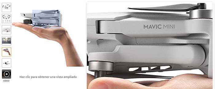 Mavic Mini el mejor drone para viajar