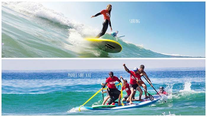 Escuela de surf mejor playa de España para aprender a surfear