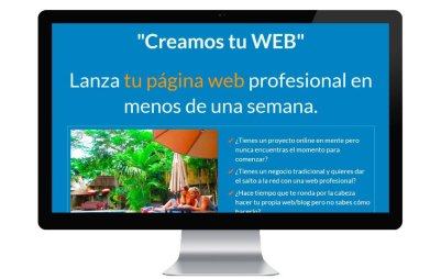 Creamos tu web. Diseño web