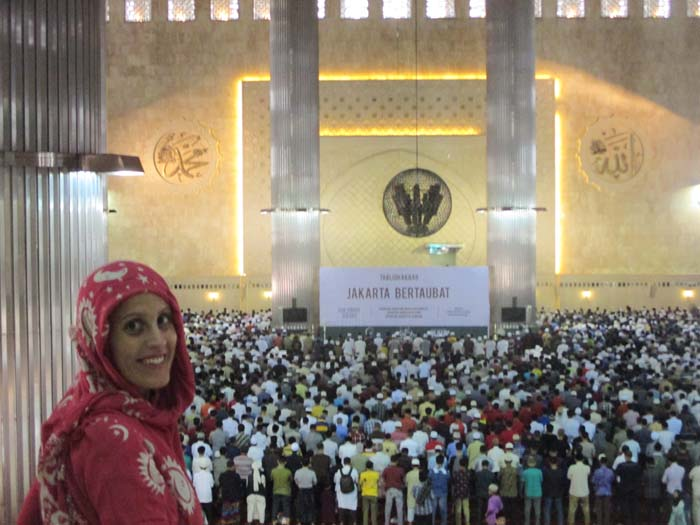 Masjid Istiqlal, la mezquita más grande del sudeste asiático