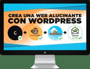 Crea una web alucinante con WordPress 2