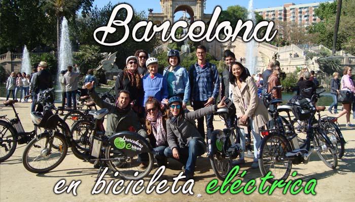 Descubre Barcelona en bicicleta eléctrica