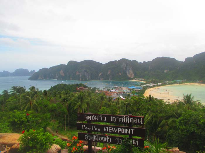 View Point Koh Phi Phi Tailandia