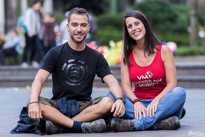 Ivan y Erika de Viviendo por el Mundo