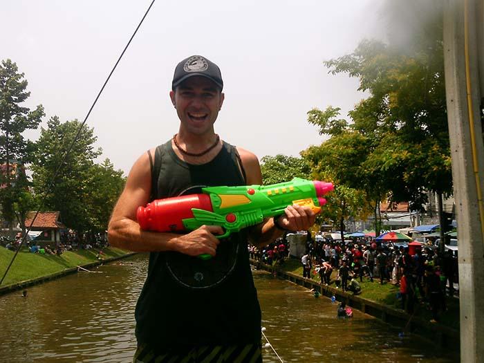 Songkran en Chiang Mai