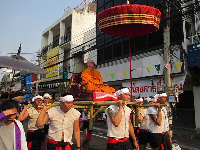 El Songkran tradicional