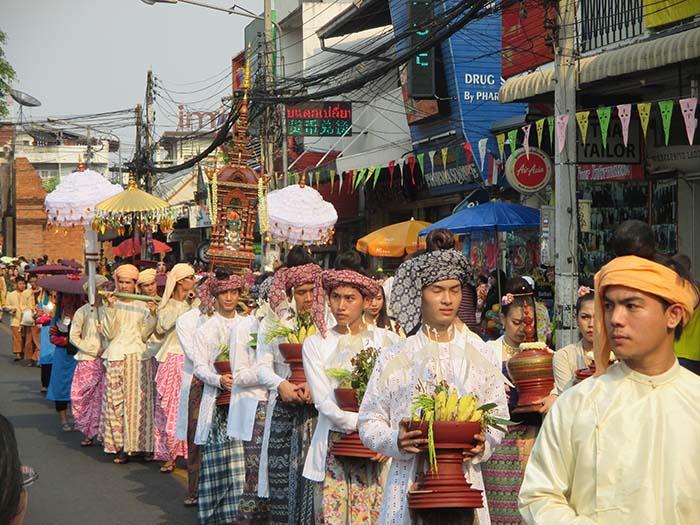 El Songkran tradicional en Tailandia