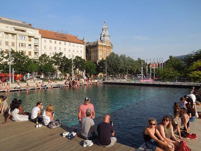 parque Erzsébet tér
