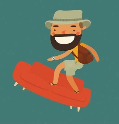 Opiniones Couchsurfing, consejos alojamiento gratis