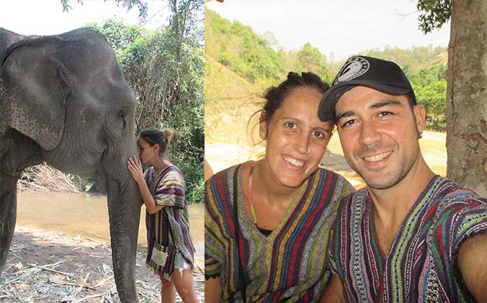 Ropa etnia Karen Elephant Jungle Sanctuary