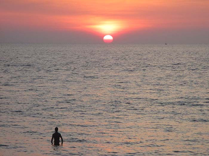 Sunset in Koh Phra Thong
