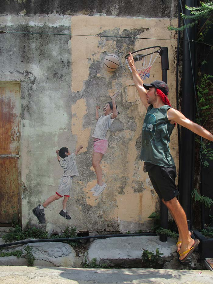 Arte callejero en Georgetown