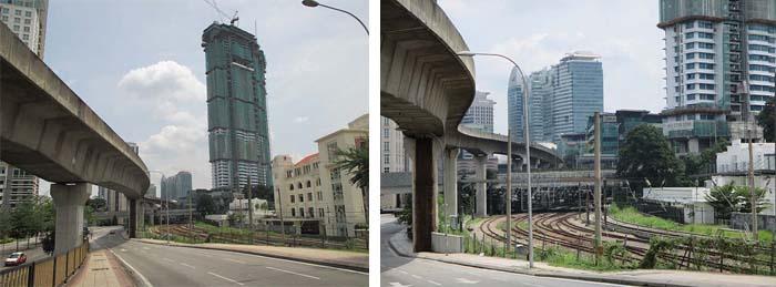 calles desiertas de Kuala Lumpur Viviendoporelmundo