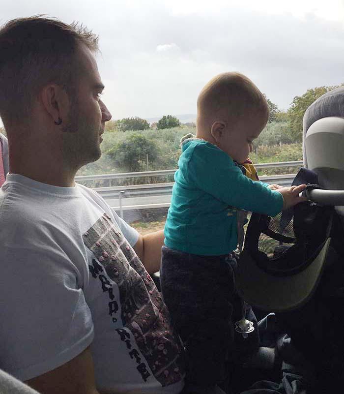 Dificultades con las que nos hemos encontrado viajando con un bebé (1)