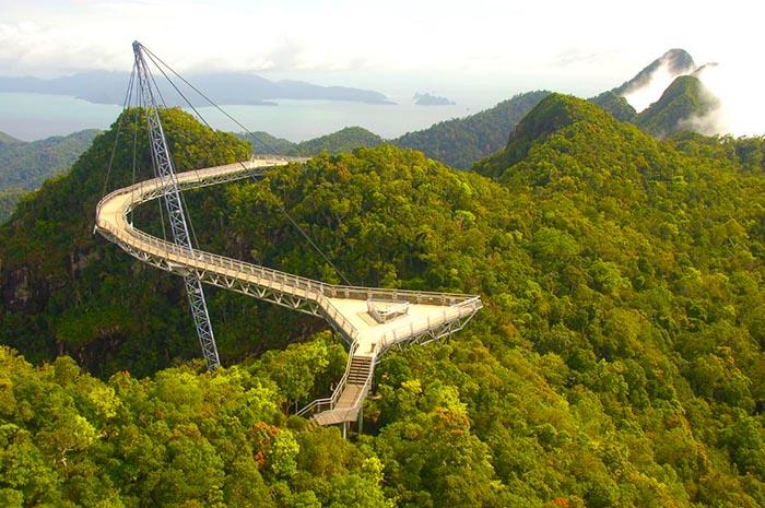 Langkawi sky bridge Viviendoporelmundo