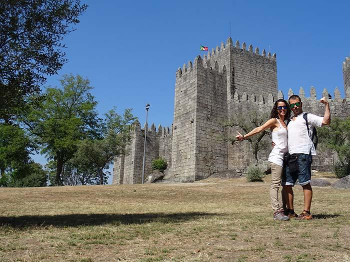 Viviendoporelmundo Castillo de Guimarães