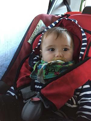 Dificultades con las que nos hemos encontrado viajando con un bebé