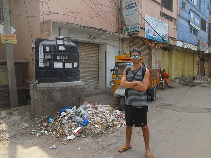 Basura en Hyderabad Viviendoporelmundo
