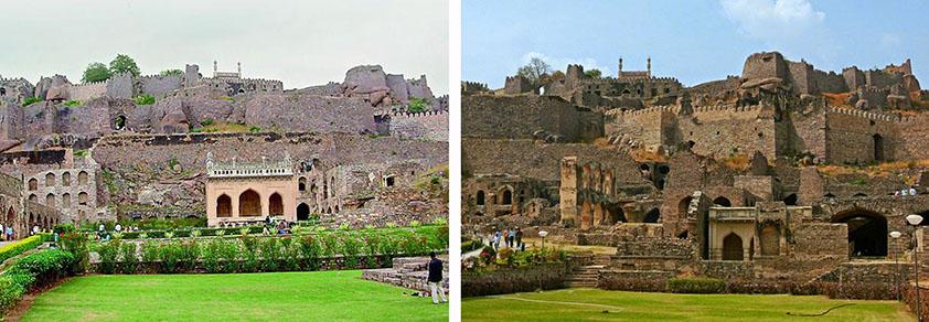 Fuerte Golconda Hyderabad Viviendoporelmundo