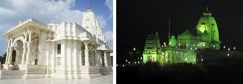 Templo hindú de Birla Mandir Hyderabad Viviendoporelmundo