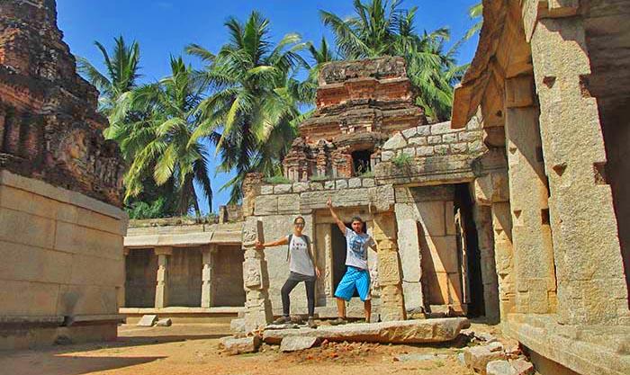 ¿Cómo visitar los templos en Hampi?
