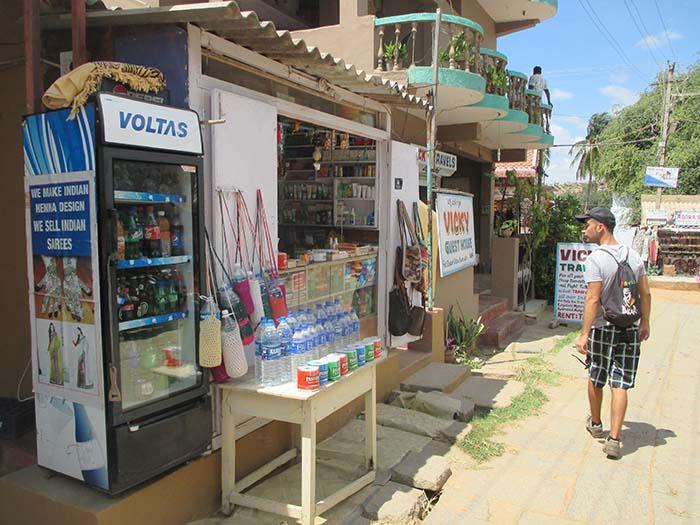 Hampi ciudad Antigua o Hampi Bazaar