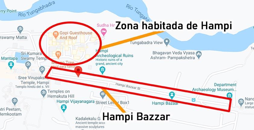 Hampi con Hampi Bazaar Viviendoporelmundo