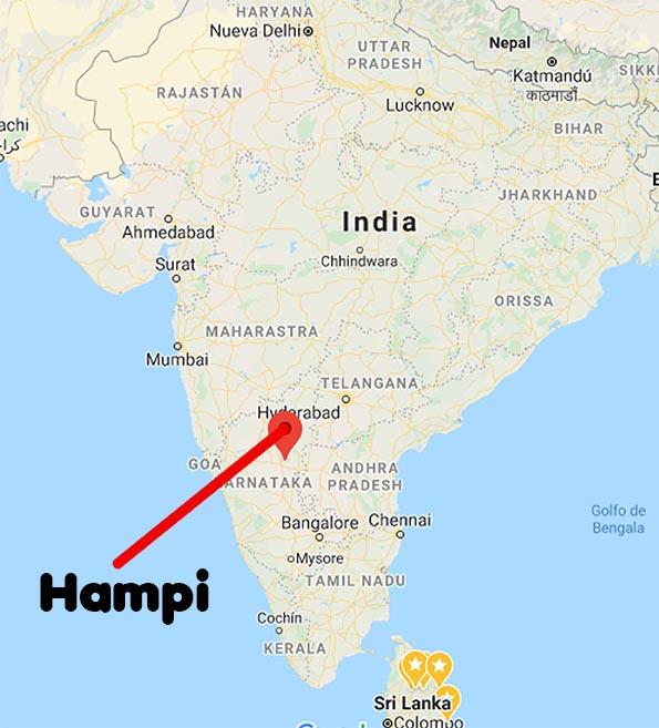 Hampi en India Viviendoporelmundo
