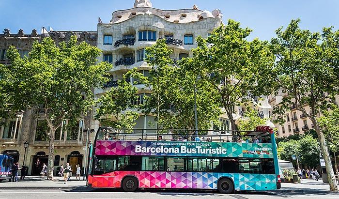 Top 10 de actividades en Barcelona. Bus turístic Barcelona