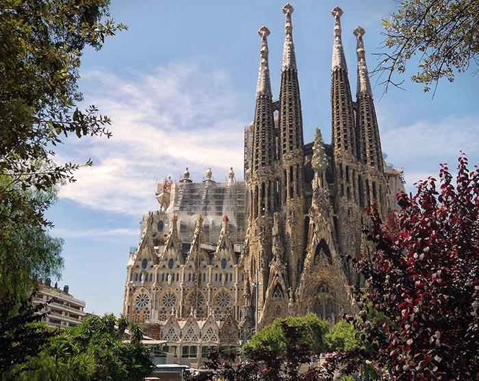 Top 10 de actividades en Barcelona. Sagrada Familia