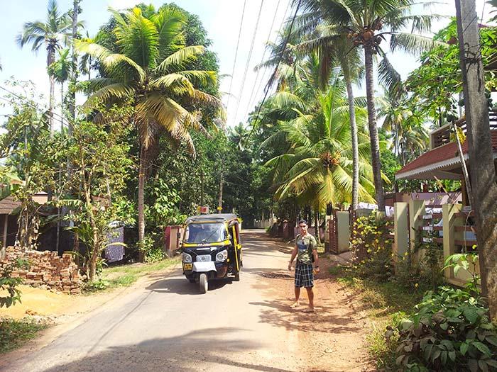 Paseo por Kottayam