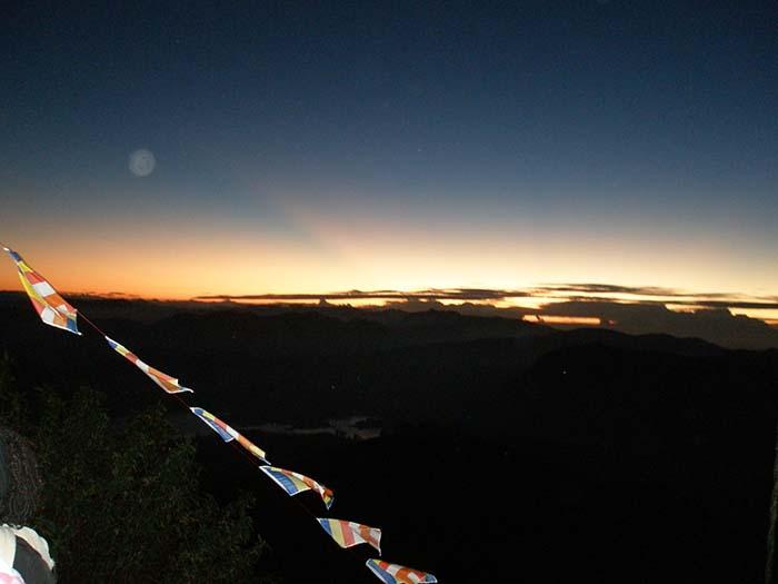 Nuestra subida al Adam's Peak