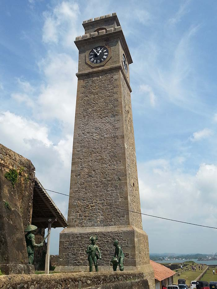 ¿Qué ver en Galle? Torre del reloj