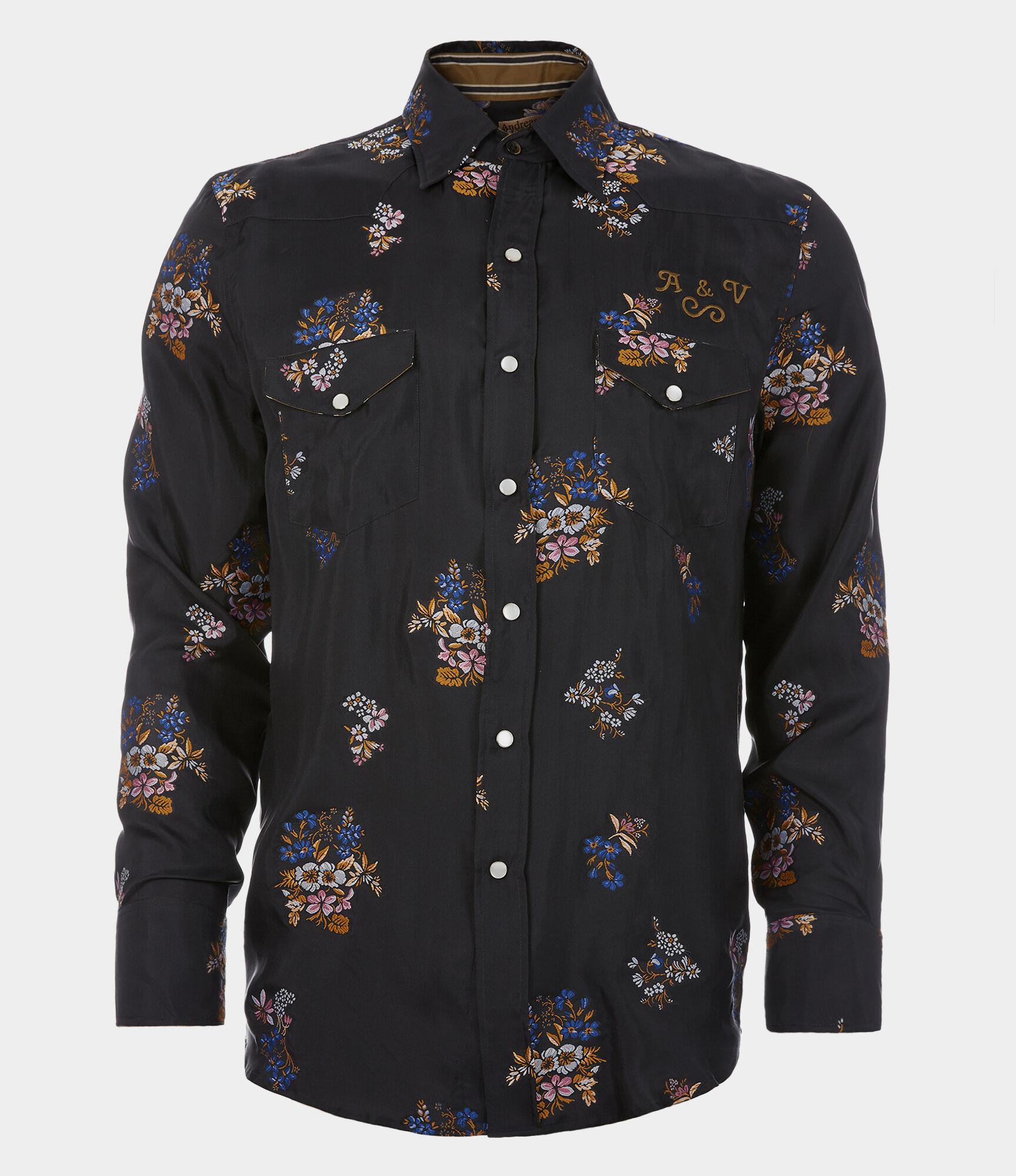 Sid shirt floral silk jacquard also designer men   clothing menswear vivienne westwood rh viviennewestwood