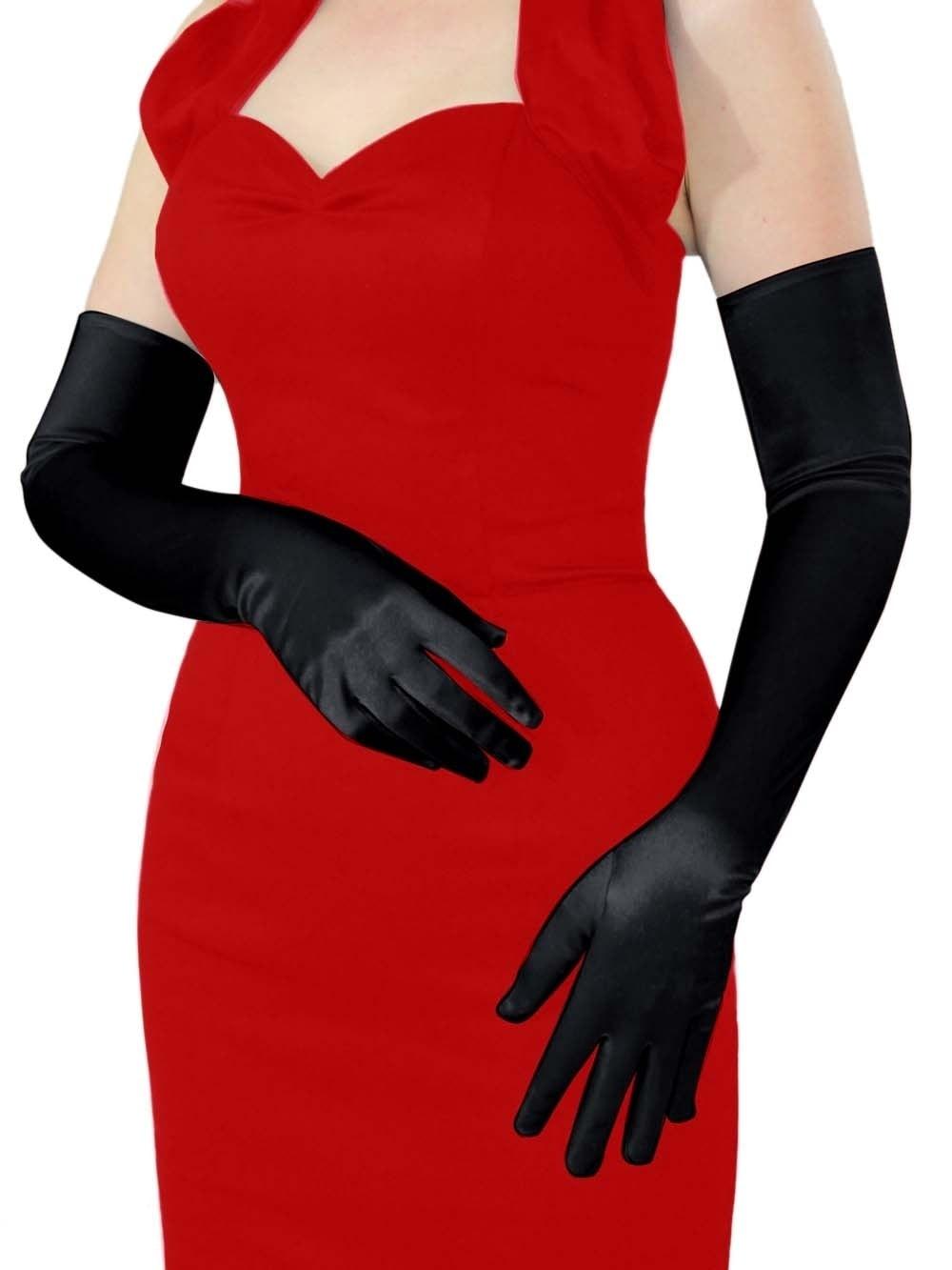 Opera Gloves Black from Vivien of Holloway