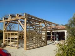 Construction provisoire pour la construction du Koalen 26